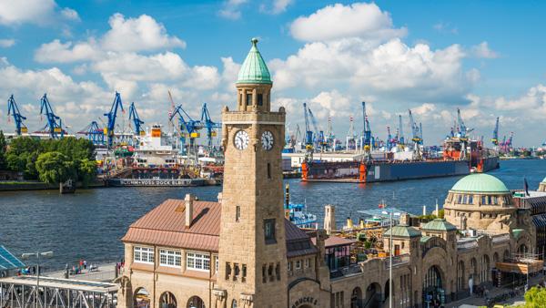 Hamburg uçak bileti