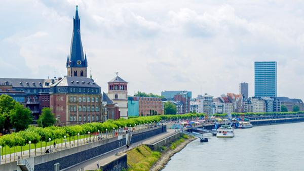 Loty do Düsseldorf