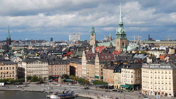 Loty Sztokholm
