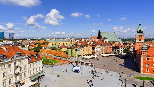 Loty Warszawa